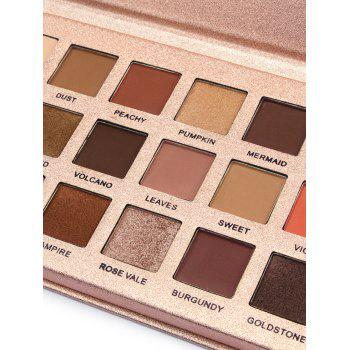 18 Colors Long Lasting High Pigment Eyeshadow Palette - ROSE GOLD