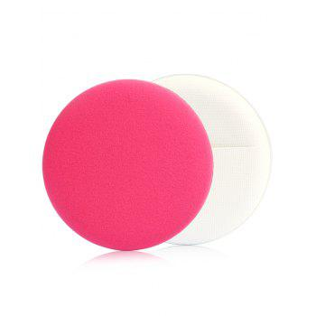 7Pcs Air Cushion Foundation Cosmetic Sponge Puff - ROSE RED