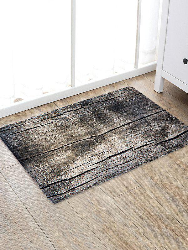 Uhommi Vintage Old Wood Print Non Slip Floor Rug vintage faux reclaimed old brown hard wood photo backdrop vinyl cloth high quality computer printed wall backgrounds for sale