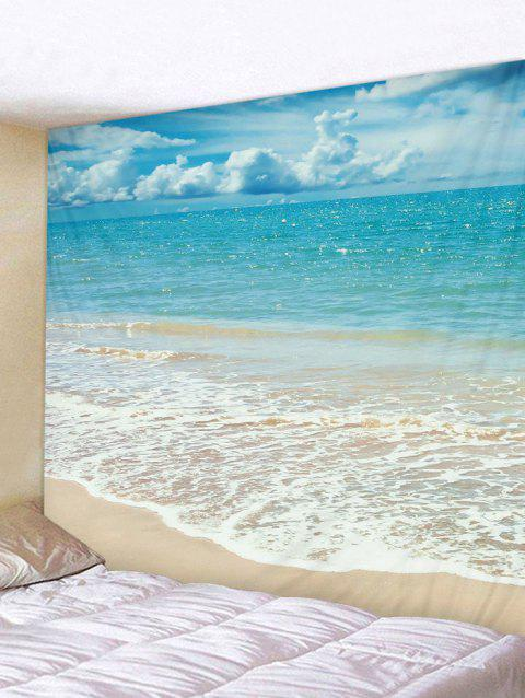 Beach Background Wall Hangings Tapestry - CELESTE W91 INCH * L71 INCH