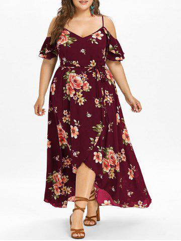 2018 Print Dress Online In Plus Size Store Best Print Dress For