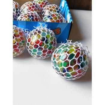 Ballon Squishy Cool Anti Stress Coloré - multicolor