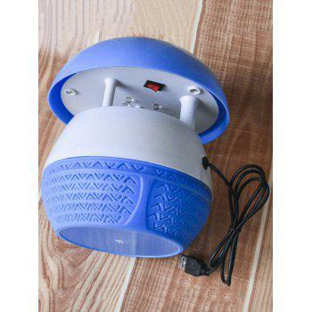 LED Lights Mushroom Design Insect Mosquito Killer Lamp - BLUE ORCHID