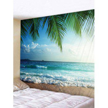 Beach View Print Wall Hangings Tapestry