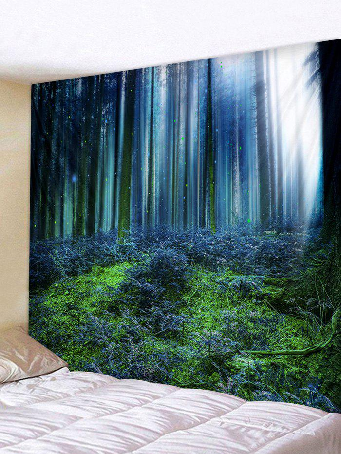 Forest Print Tapestry Wall Hanging Decor wall hanging forest print tapestry