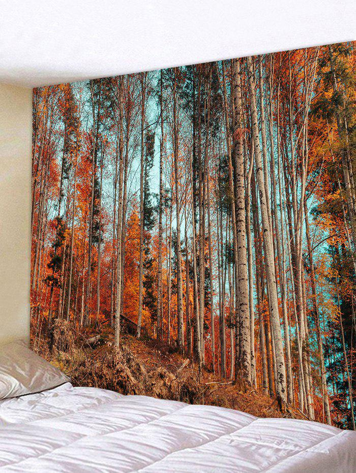 Maple Trees Print Tapestry Wall Hanging Decor wall hanging art decor trees print tapestry