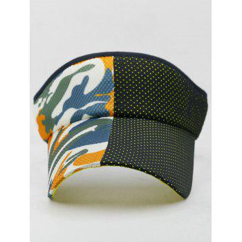 Camouflage Open Top Sport Hat - multicolor A