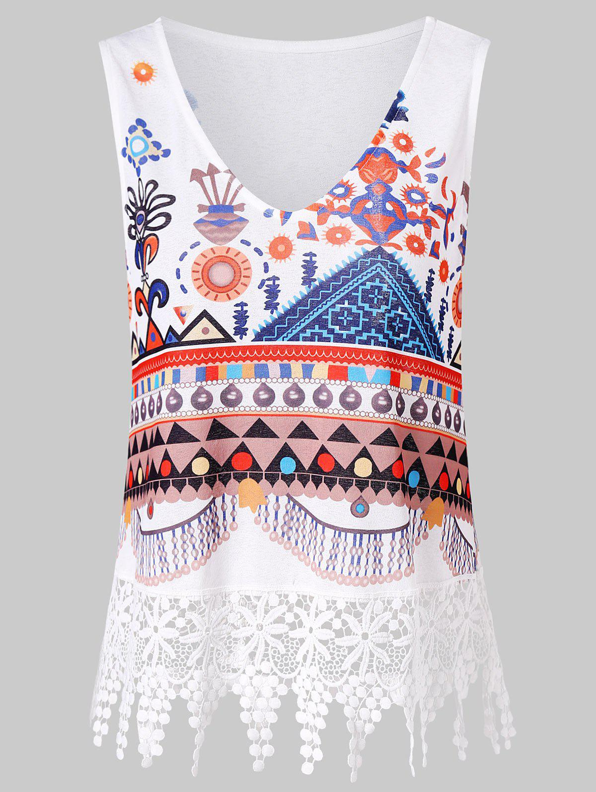 Tribal Print Lace Insert Tank Top free shipping 10pcs lot spp11n60c3 11n60c3 to 220 n channel new original