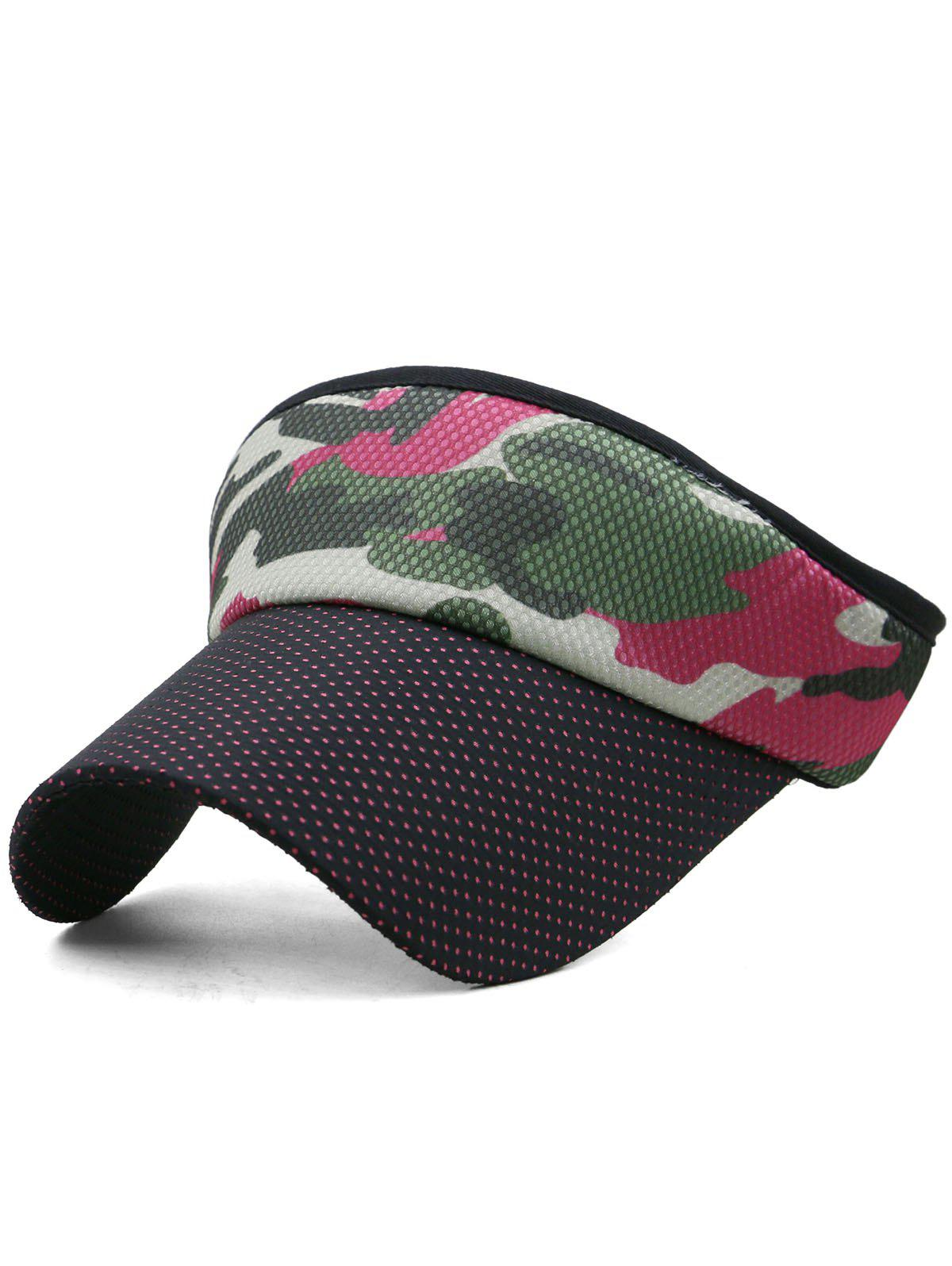 Camouflage Open Top Sport Hat - multicolor C