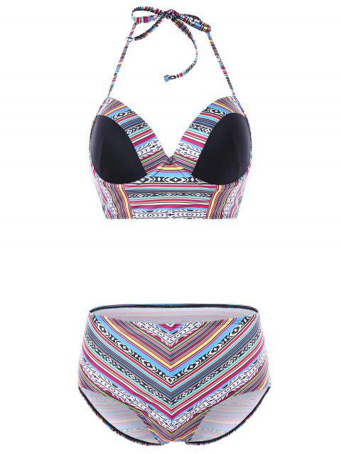 Bikini Pushe Up Bohémien - multicolor XL
