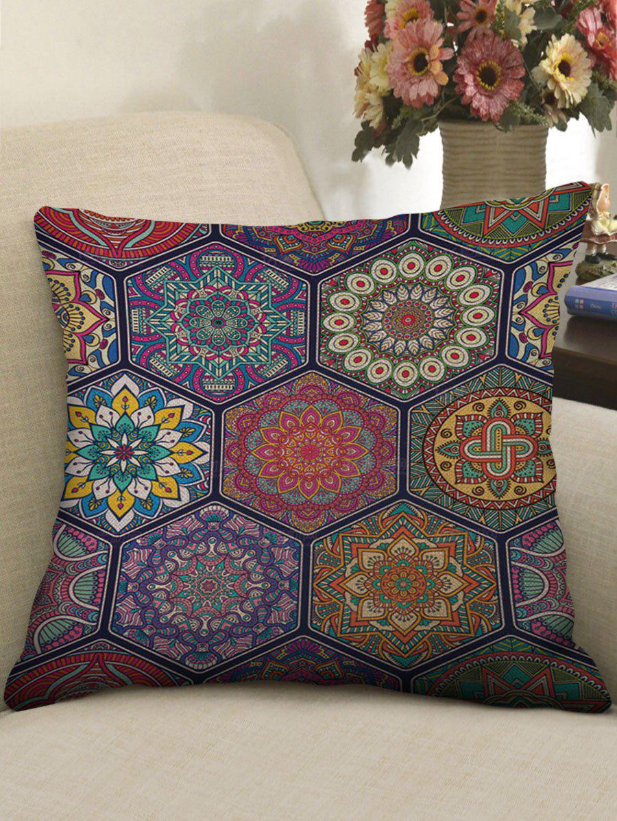 Mandala Patch Print Linen Sofa Pillowcase vitex fruit 400 mg 100 pcs free shipping
