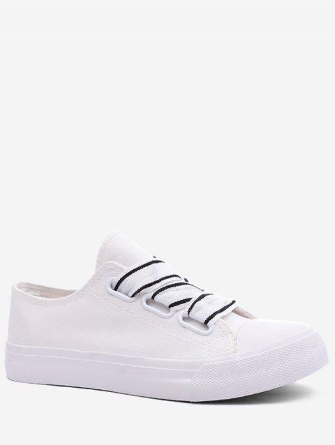 Casual Outdoor Lightweight Walking Sneakers - WHITE 38