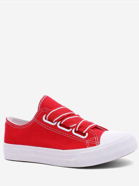 Casual Outdoor Lightweight Walking Sneakers - FIRE ENGINE RED 36