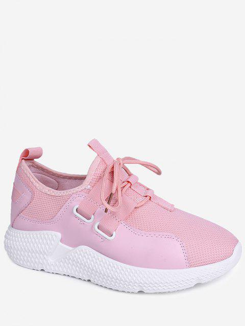 Lightweight Outdoor Athletic Walking Sneakers - LIGHT PINK 36