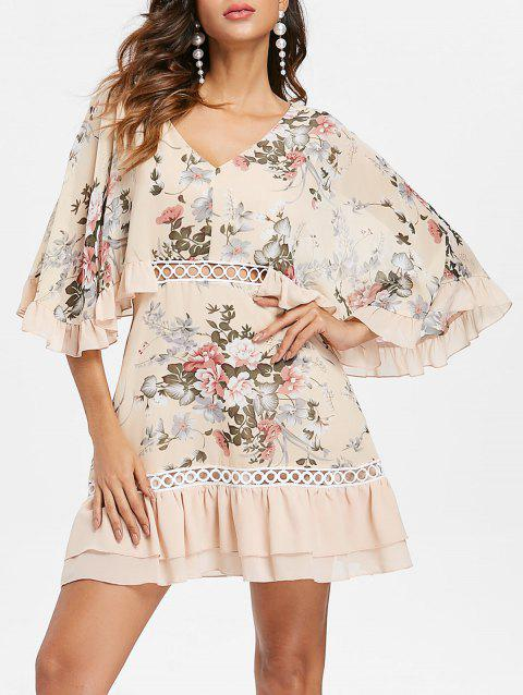 2fa55dd3817e7 2019 Short Chiffon Dress With Sleeves Best Online For Sale   DressLily