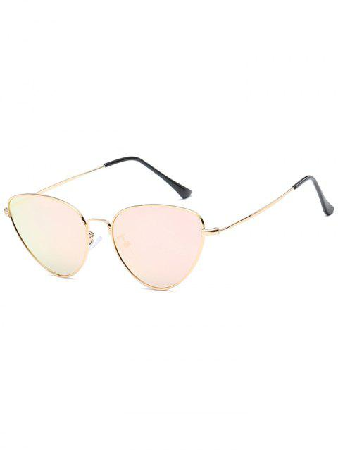 Stylish Metal Full Frame Driving Travel Sunglasses - PIG PINK