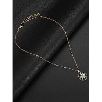 Set of Crystal Inlay Star Party Wedding Jewelry - GOLD