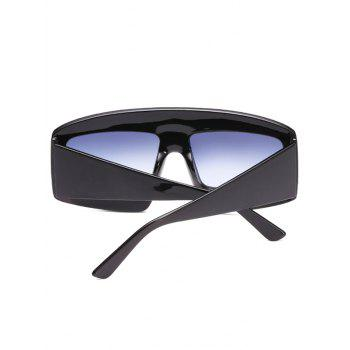 UV Protection Wide Frame Driving Sunglasses - BATTLESHIP GRAY