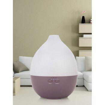 Ombre Color LED Ultrasonic Aroma Air Purifier - VIOLA PURPLE US PLUG