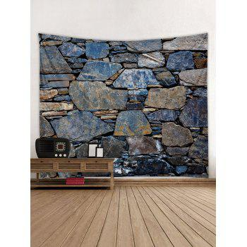 Stones Wall Print Tapestry Wall Art Decor - multicolor W79 INCH * L71 INCH