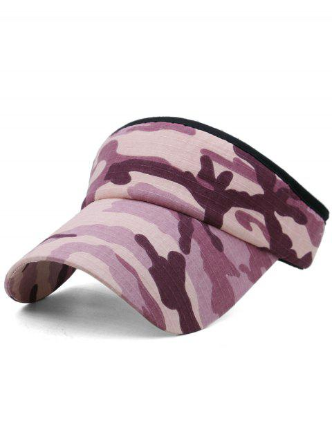 Camouflage Printed Open Top Sport Hat - multicolor A
