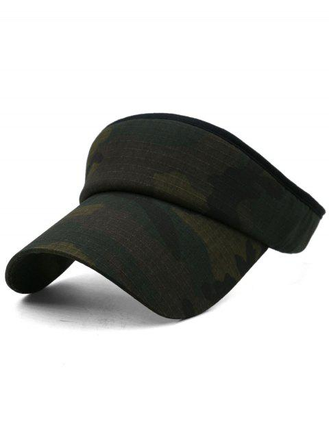 Camouflage Printed Open Top Sport Hat - multicolor G