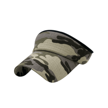 Camouflage Printed Open Top Sport Hat - multicolor D