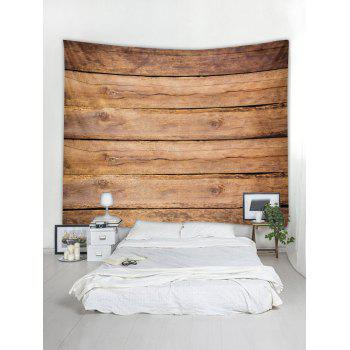 Wood Texture Background Print Wall Hanging Tapestry - WOOD W59 INCH * L51 INCH