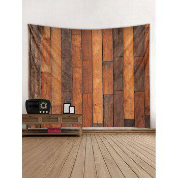 Vintage Wood Background Print Wall Decor Tapestry - WOOD W59 INCH * L51 INCH