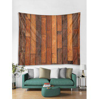 Vintage Wood Background Print Wall Decor Tapestry - WOOD W79 INCH * L59 INCH