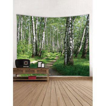 Woods Pattern Wall Tapestry Hanging Decor - multicolor W71 INCH * L71 INCH