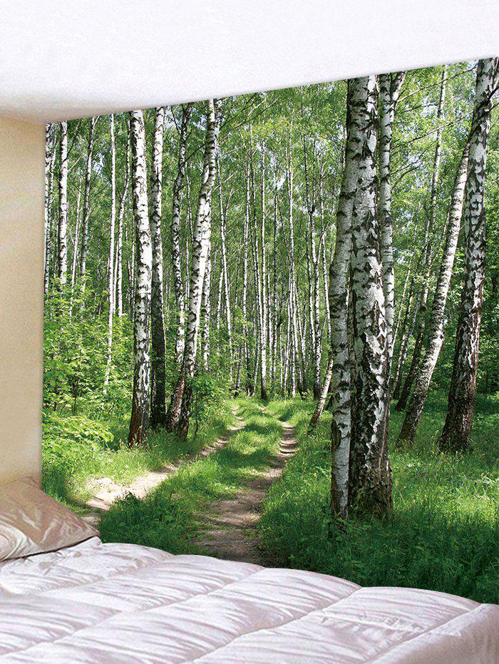 Woods Pattern Wall Tapestry Hanging Decor - multicolor W79 INCH * L71 INCH