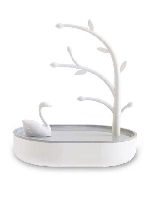 Swan Lake Jewelry Organizer Display Stand Rack - GRAY