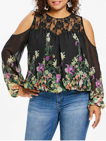 7ddccc35b4a09 2019 Sheer Lace Blouse Online Store. Best Sheer Lace Blouse For Sale ...