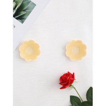 Adhesive Nipple Covers Petal Pasties - CHAMPAGNE ONE SIZE