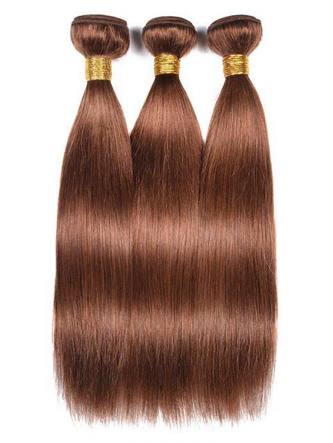 Indian Real Human Hair Straight Hair Weaves - PUCE 10INCH*10INCH*10INCH