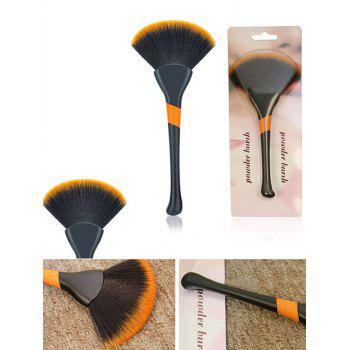 Multifunctional Ultra Soft Fan Shaped Powder Blush Brush - NIGHT