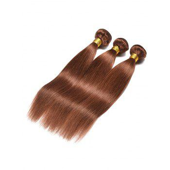 Indian Real Human Hair Straight Hair Weaves - PUCE 20INCH*20INCH*20INCH