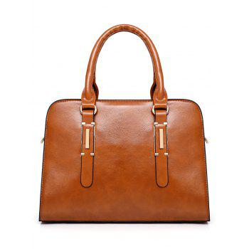 Leisure Travel All Purpose 4 Pieces Tote Bag Set - BROWN