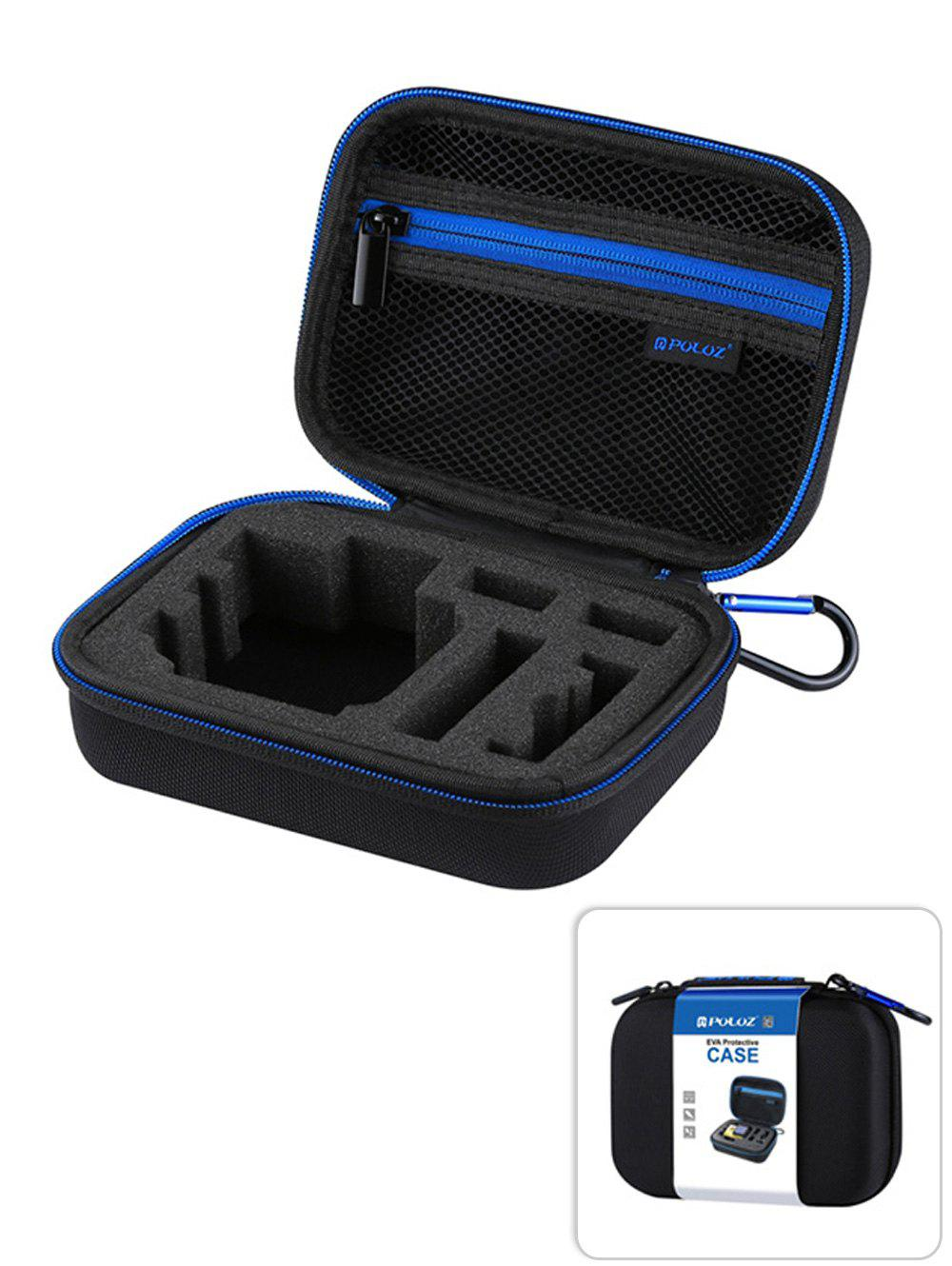 PULUZ Waterproof Portable Travel Protective Case for GoPro Hero 6, 5, 4, 3+, 3, 2, 1 and Accessories - BLACK