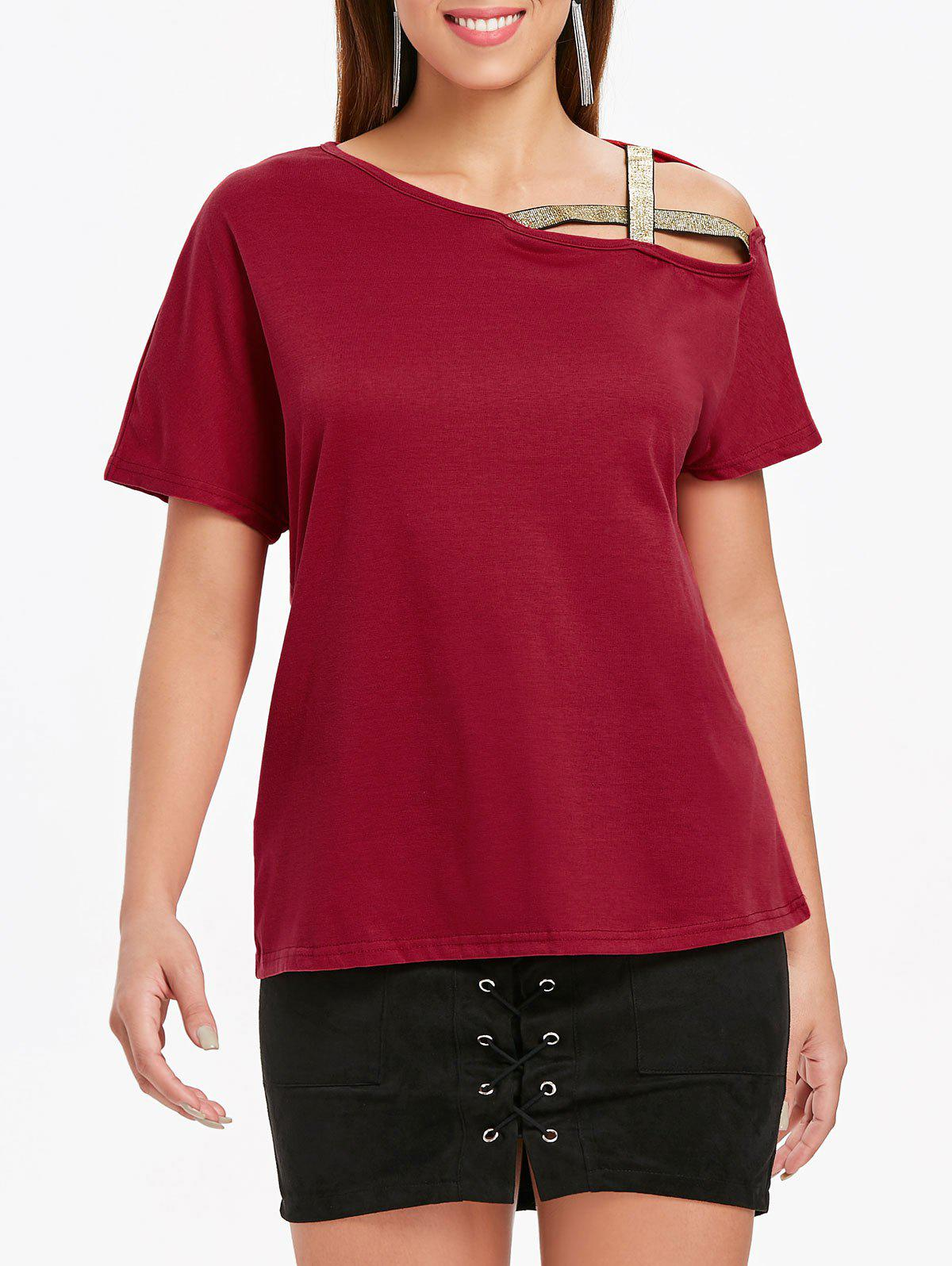 Short Sleeve T-shirt - RED L
