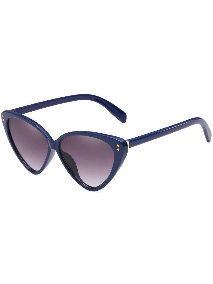 Anti Fatigue Catty Driving Travel Sunglasses - DEEP BLUE