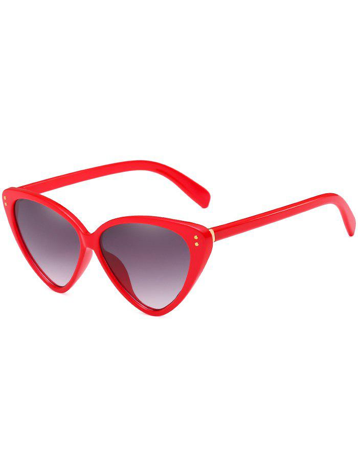 Anti Fatigue Catty Driving Travel Sunglasses - RED
