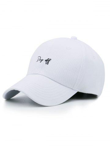 Funny Day Off Embroidery Trucker Hat 82ab544a5a06