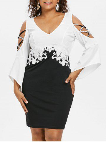 d933d6682c1 2019 Bell Sleeve Dress Online Store. Best Bell Sleeve Dress For Sale ...