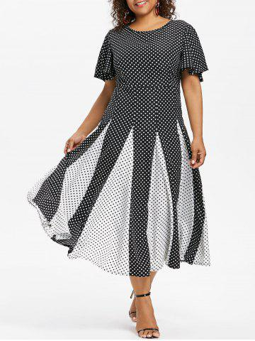 9be81294d5 2018 Polka Dot Sleeve Dress Online Store. Best Polka Dot Sleeve ...