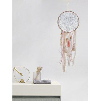 Wall Hanging Handmade Fringed Dream Catcher - multicolor 70*20CM