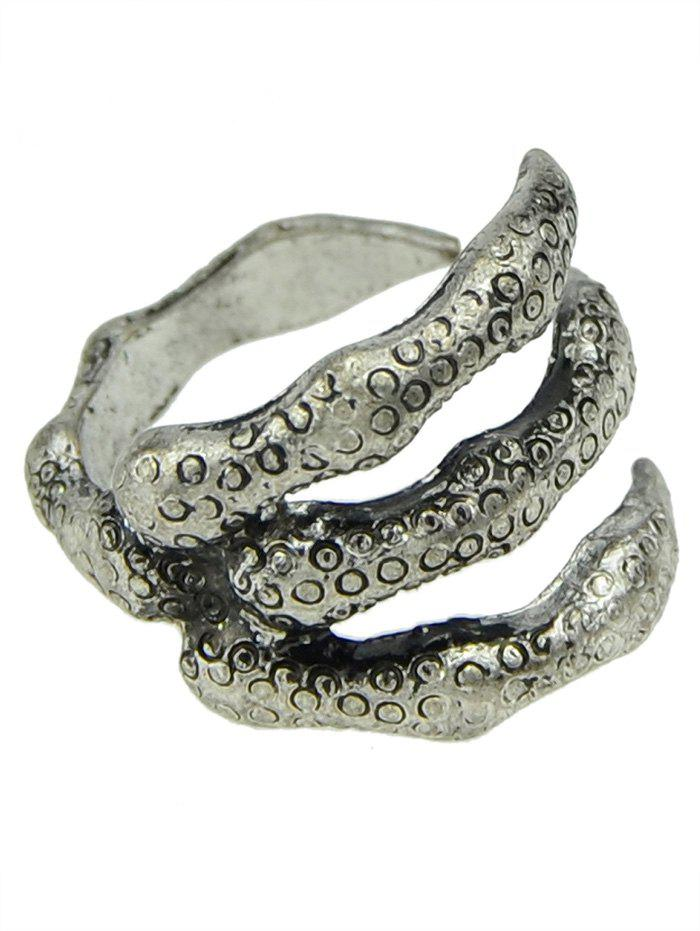 Finger Claw Rings - SILVER ONE-SIZE