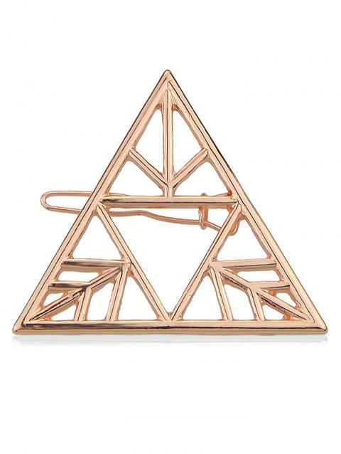 Triangle Design Hair Pin - ROSE GOLD