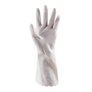 Reusable Kitchen Tools Wash Gloves - WHITE 31.5*11CM